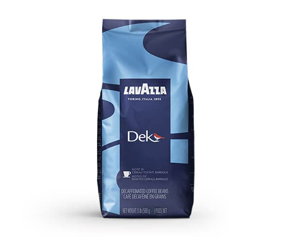 Dek - Decaffeinated Coffee Beans for Bars | Lavazza Specials
