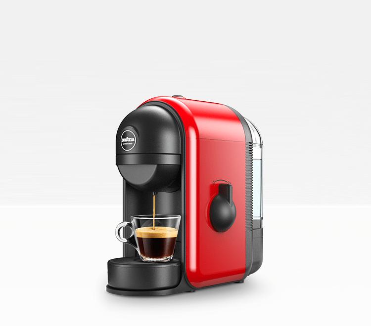 Min? - Espresso Coffee Machine Lavazza