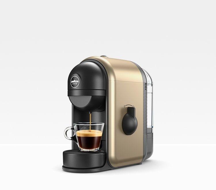 Lavazza Minu Coffee Maker Review : Min? Glam Gold - Espresso Coffee Machine Lavazza