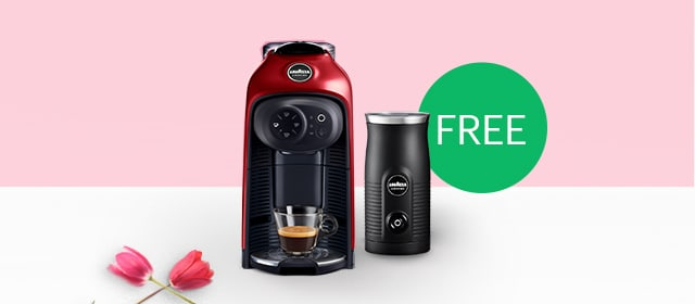 <p>Buy our new Idola machine and get a free MilkEasy frother worth £39.<br>
